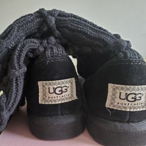 UGG knitted slipper boots